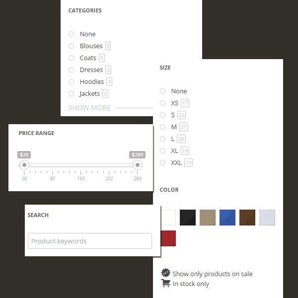 Κατασκευή eShop με σύστημα αναζήτησης πολλαπλών φίλτρων Ajax