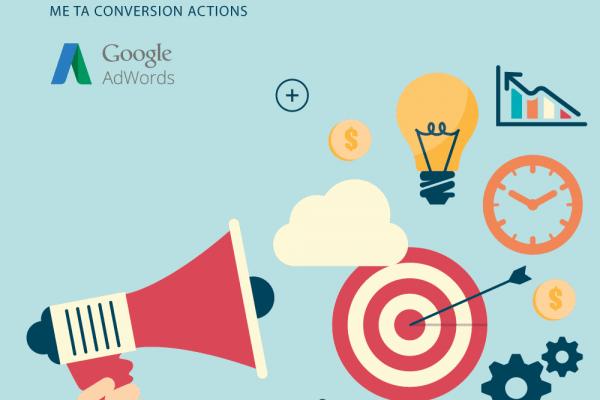 Google AdWords & Conversion Actions, Αλλαγή από Σεπτέμβριο 2016