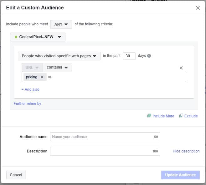 Facebook Retargeting Custom Audience - How To
