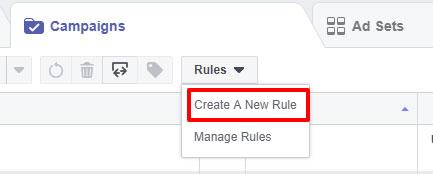 Facebook Ads Manager Δημιουργία Κανόνων για Διαφημίσεις