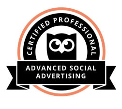 Hootsuite Certified Professional Advanced Social Advertising - Anna Esirpeoglou