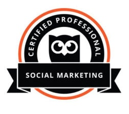 Hootsuite Certified Professional - Social Media Marketing - Anna Esirpeoglou