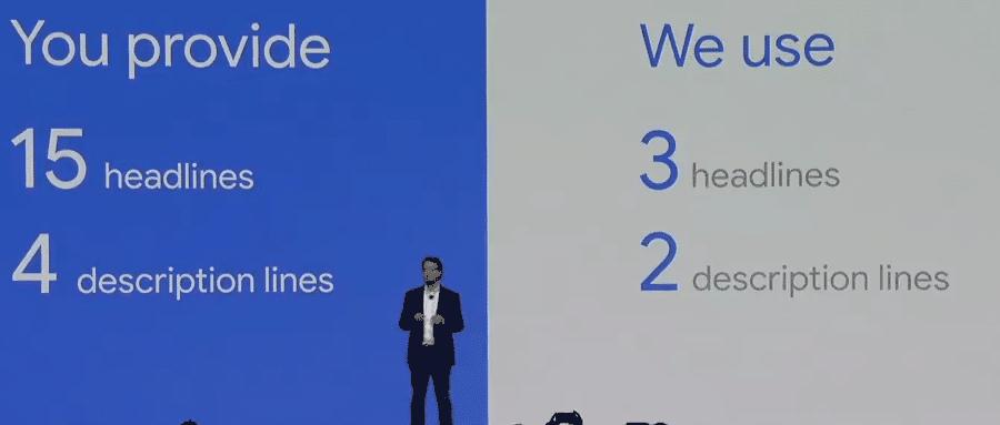 Google Event για τις επεκτάσιμες διαφημίσεις κειμένου