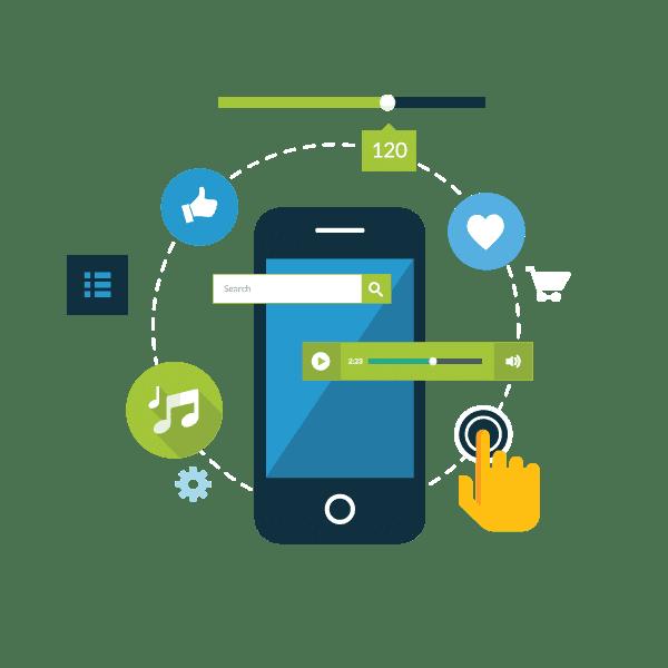 Κατασκευή Mobile και Tablet Applications (εφαρμογές) | Qbrains