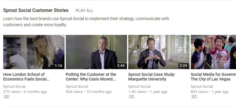 Youtube Marketing SproutSocial Brands